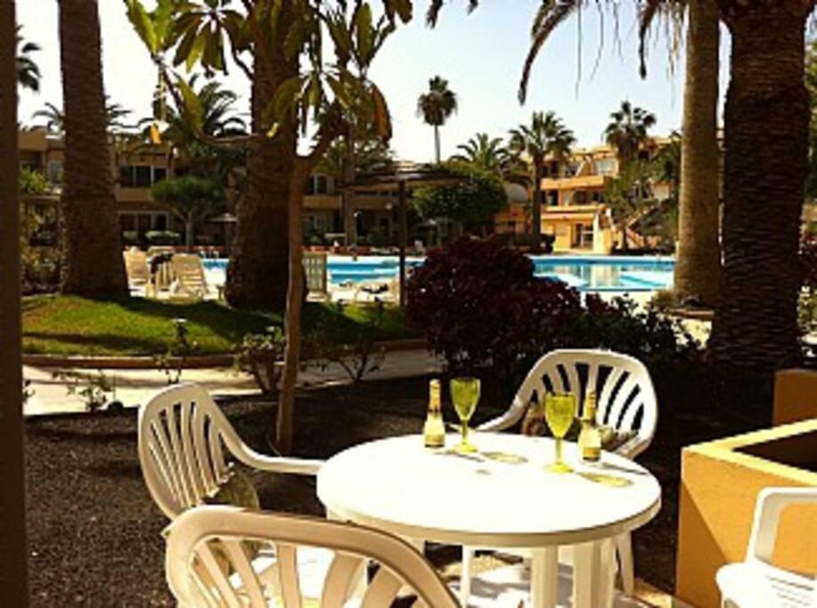 tranquil resort