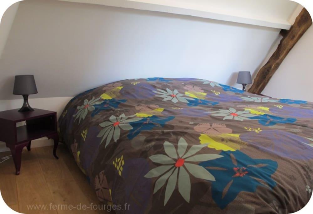 Chambre avec lit de 160x200