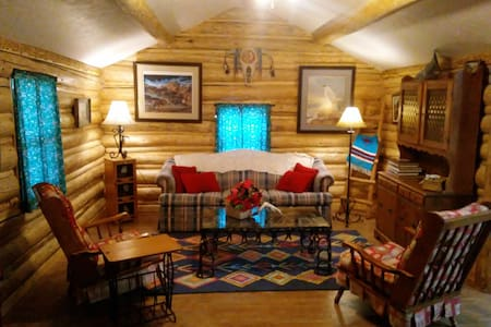 Lil' Cabin On The Wind- In Town On The Wind River!
