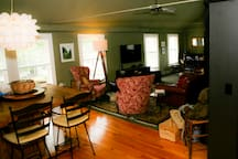 View of main living area