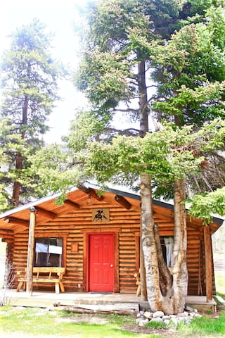 2-Bedroom Log Cabin Retreat in Clark - Clark - Chatka