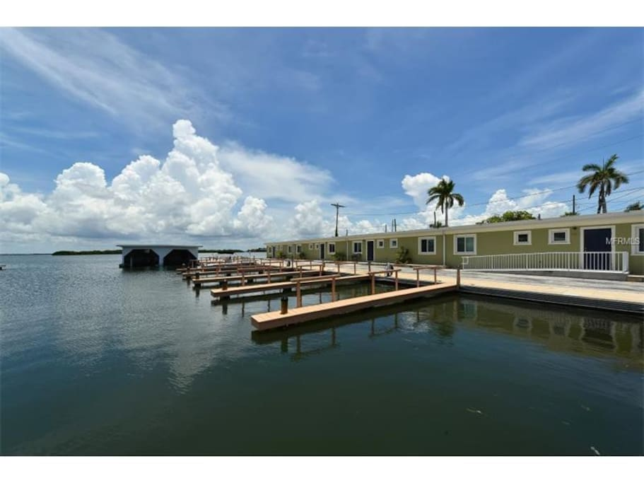 Main floor..steps from your own private dock. Boat access to the Gulf of Mexico minutes away