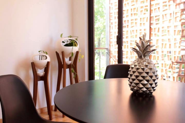 Lovely Mini Loft w/private Roof Garden in Coyoacan
