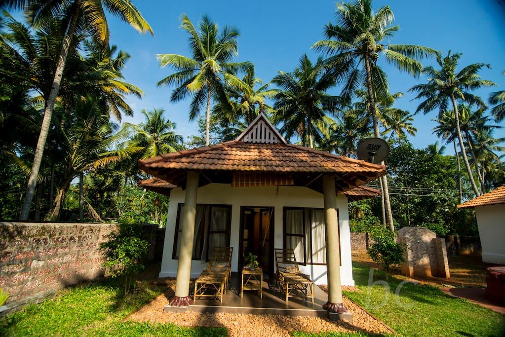 AirbnbでKollamのお家を探す