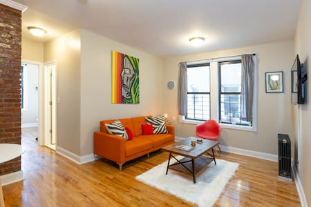 Dyckman Delight - Upscale Apartment Uptown