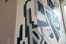 Custom mural
