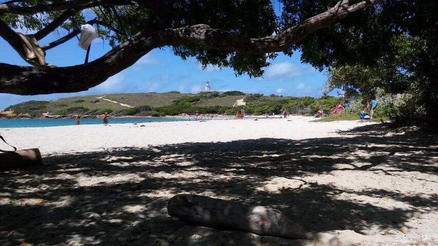 El Faro Beach