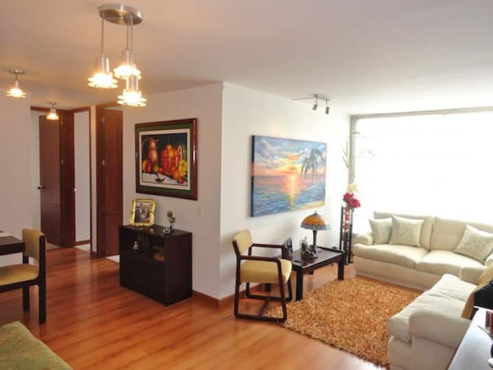 Comfortable Apartment in the north of Bogota