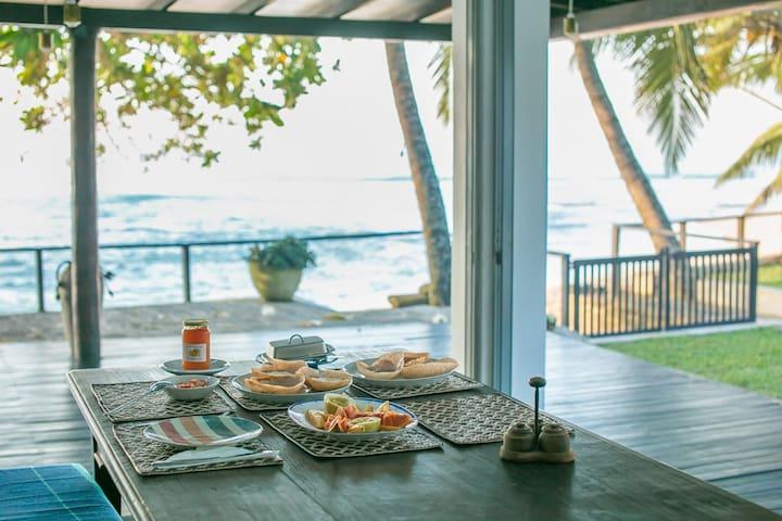 Gorgeous, modern beach house - Mihiripenna - Haus