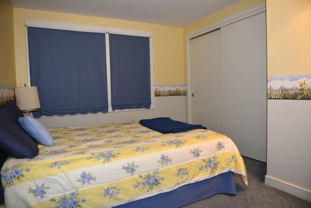 Another bedroom on middle floor