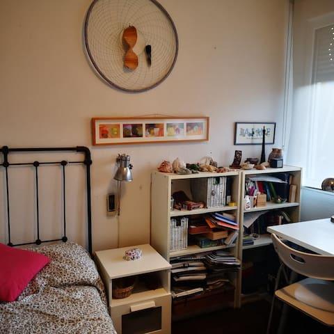 Habitación individual para temporadas cortas
