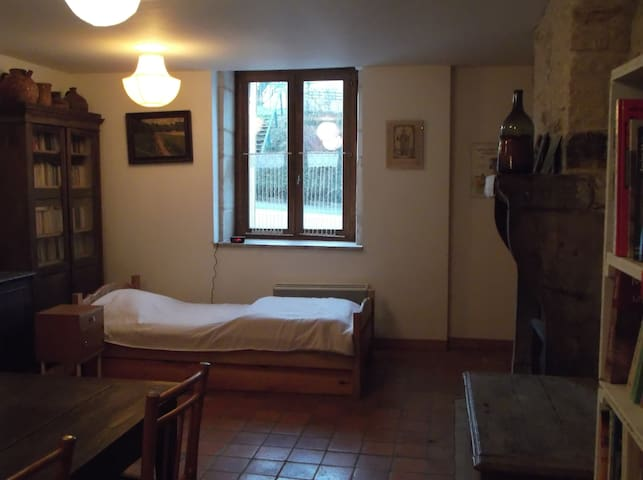 room with kitchen and accomodation - Champlitte - Casa