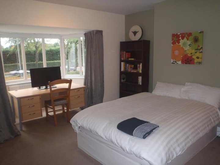 Large double ideal  for work/study, across UoB