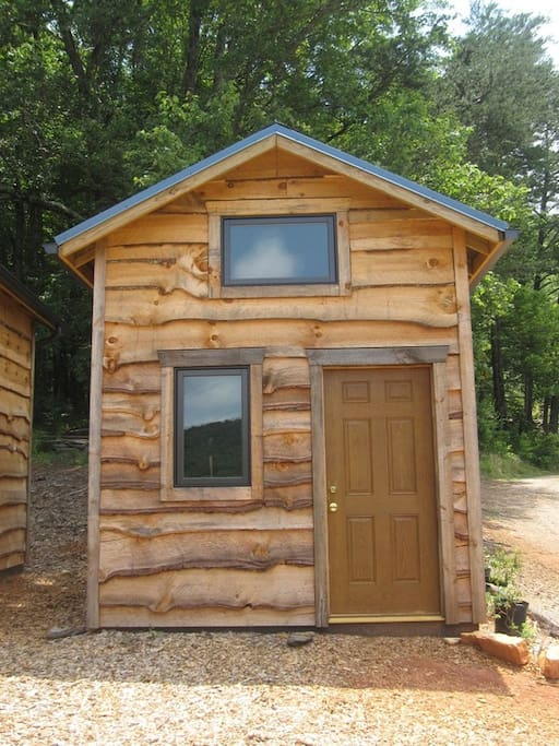 Simplicity at it's best, a cozy shelter with warm and well ventilated sleeping loft.