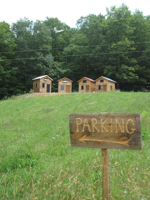 Located very close to our parking area.