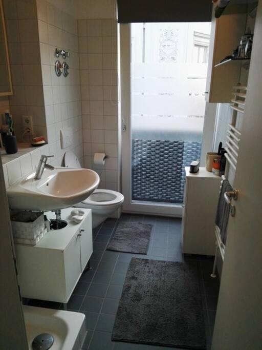 neues Badezimmer mit Dusche