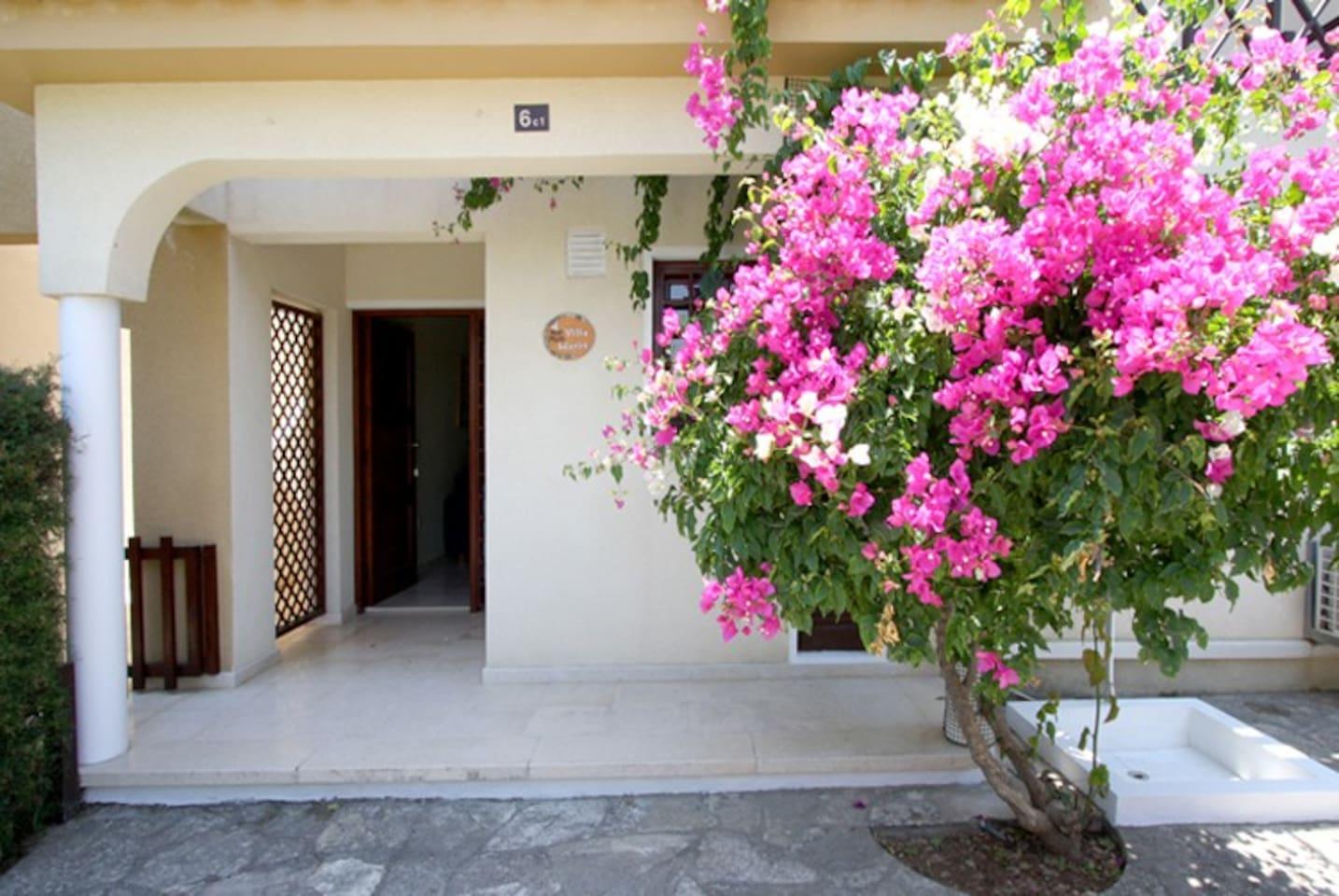Maria Villa entrance