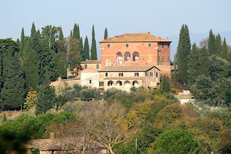 Apt. Farmhouse Toscana + telescope - Asciano - Villa