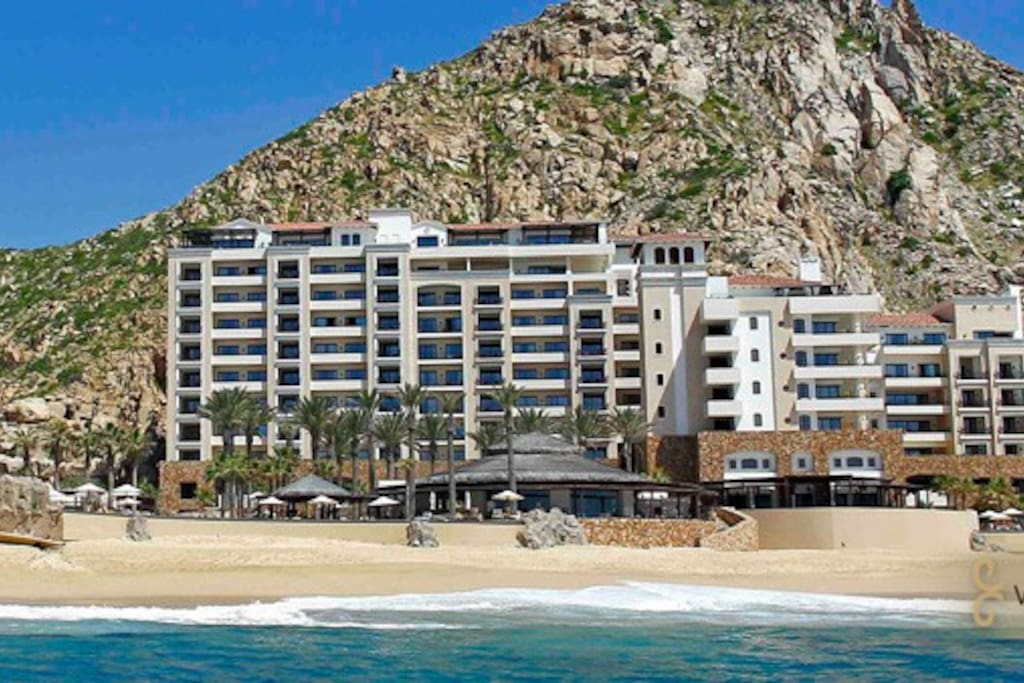 Building the resort into the mountain side provides for a private and relaxing environment even though you are just a short walk from downtown Cabo.