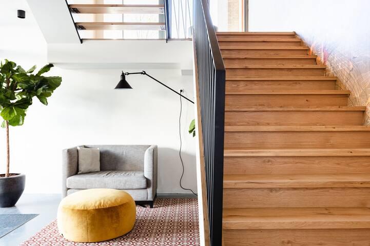 Amazing & Super Design Apartment at Sloterpark!