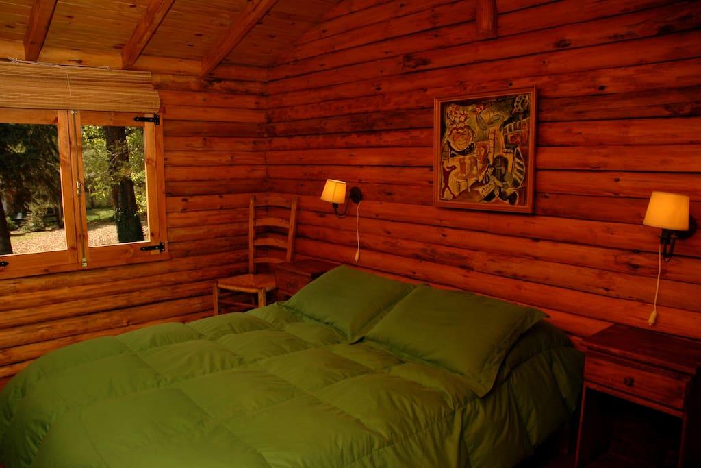 habitación cabaña chica