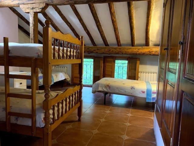 Dormitorio 4 personas