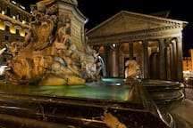 Near the Pantheon, near to all