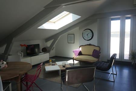 Joli appartement T2 moderne, terrasse et parking - Brive-la-Gaillarde - Wohnung