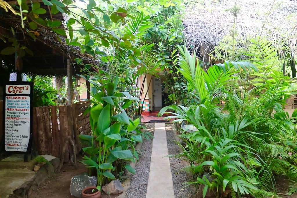 Enter into our garden homes