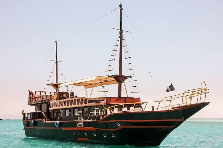 Most special liveaboard boat of Hurghada, All in