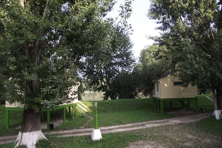 Bungalow-park Szentendrén a Pap-sziget Kempingben - Szentendre