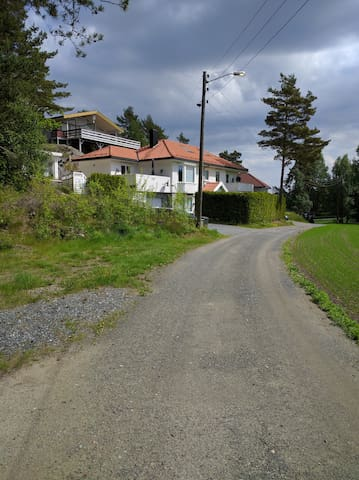 Fantastic house in quiet area - larkollen - Daire