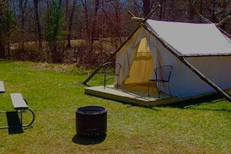 Glamping Canvas Tent KOA (42A) - Township of Branch - Tent