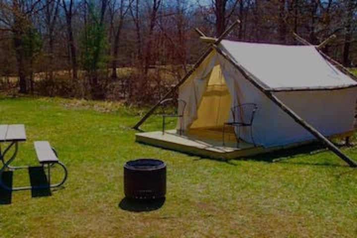 Glamping Tent @ KOA with POOL( PMR-042)