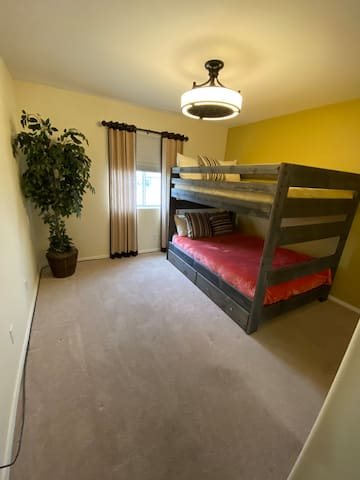 Two Full size bunkbeds
