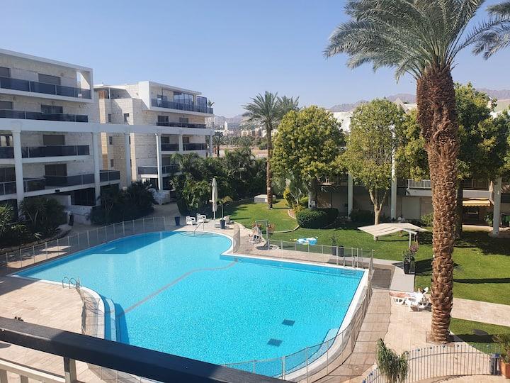 Green garden suite Eilat