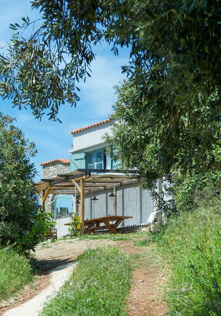 """Εξοχική κατοικία: """"Avaton Farm: Creative Tourism"""""""