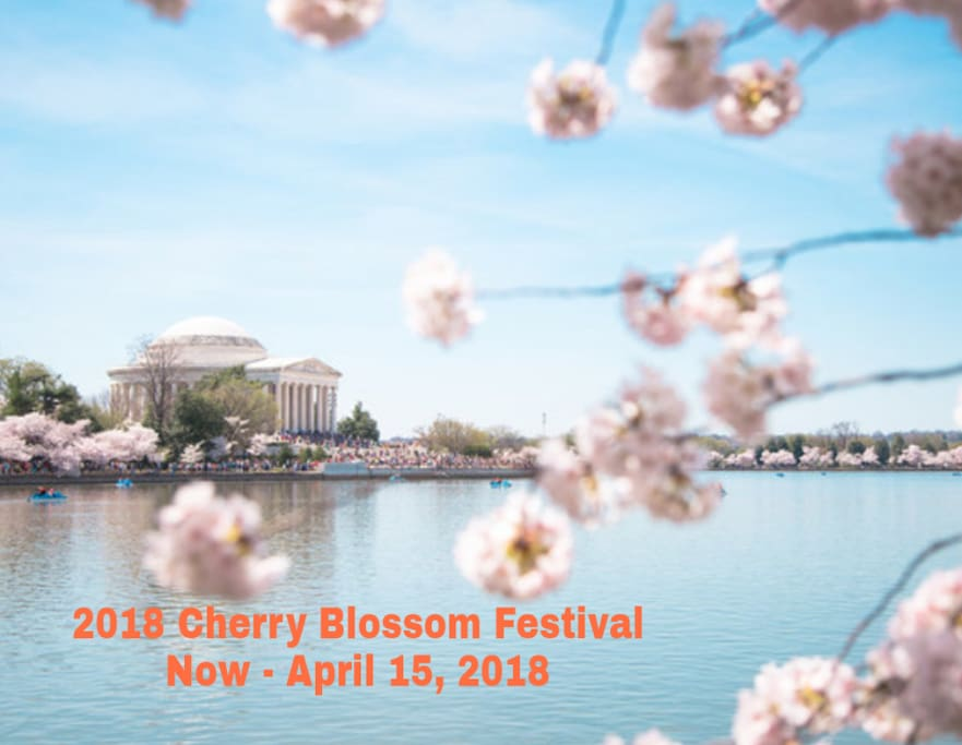 The 2018 National Cherry Blossom Festival Now - 04/15/18 All Day! Nation's largest springtime celebration. STAY MORE, SAVE MORE 5% disc