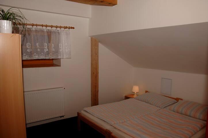 Mezonetové apartmá č.11 v penzionu Daniela 80 m2