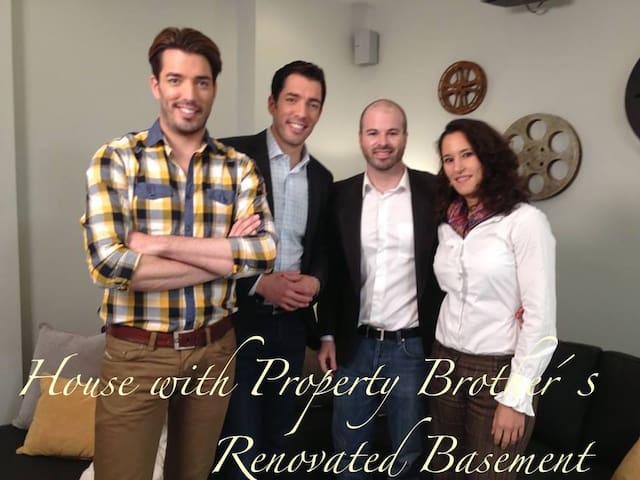 Property Brothers Remodeled House
