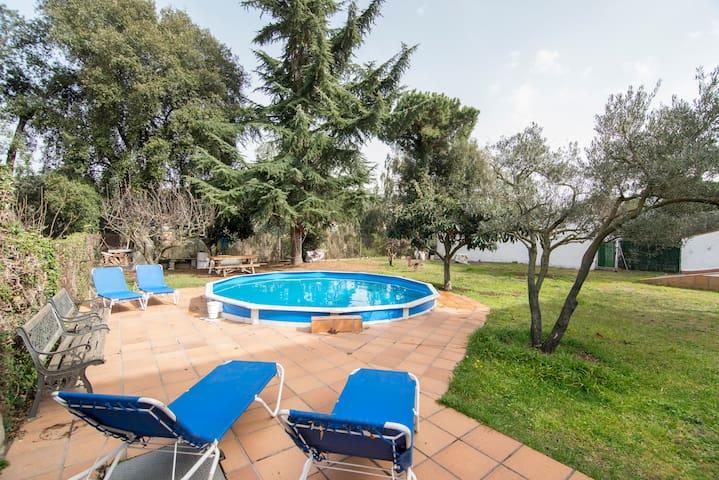 Apartamento en casa con jadín - Vilanova del Vallès - Apartamento
