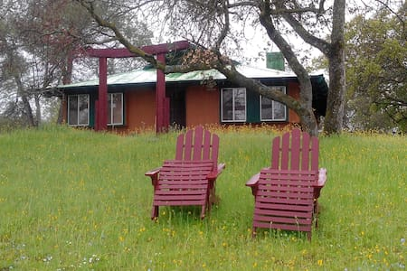 One hour from Yosemite Pk. Cottage in the woods - Coarsegold