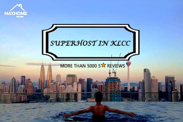 Z93 2 Rooms Best Sky Pool KL@Near City Center,KLCC