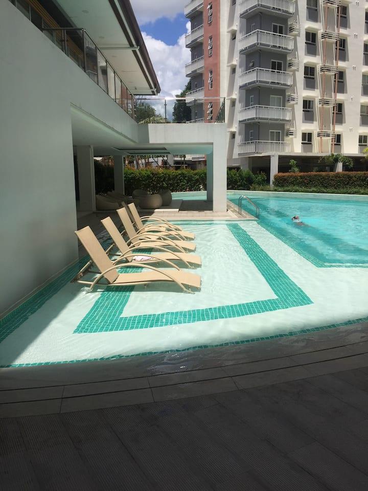New unit studio fully furnished. Heart of Cebu