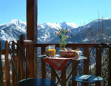 Mountain house with panoramic views - Sauto - Hus