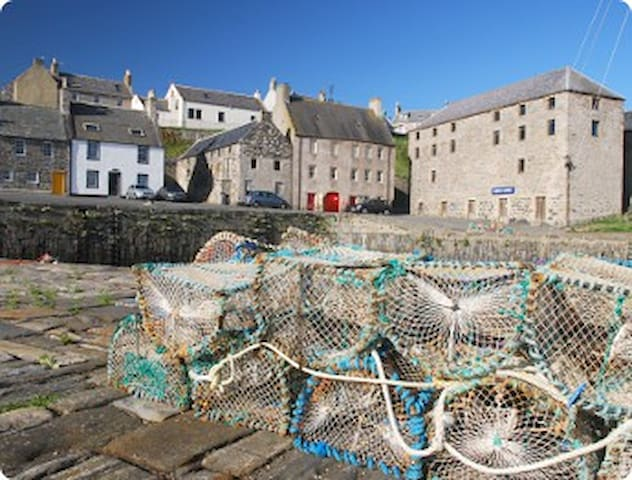 'Old Merchant House' Self Catering  - Portsoy - Casa