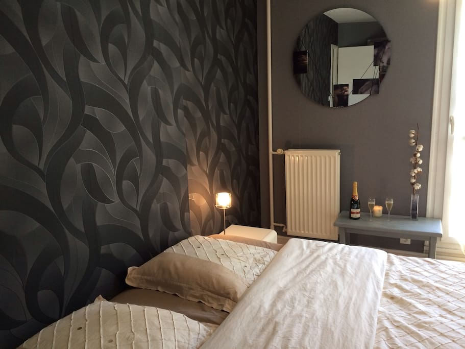 Jolie Chambre Avec Lit King Size Apartments For Rent In Reims Alsace Champagne Ardenne