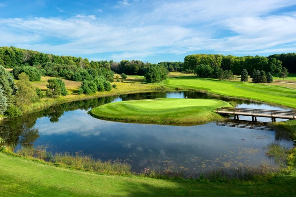 2 VERY NICE GOLF COURSES ON SITE