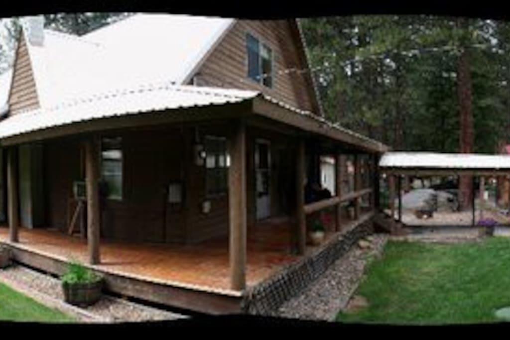 3/4 wrap-around porch