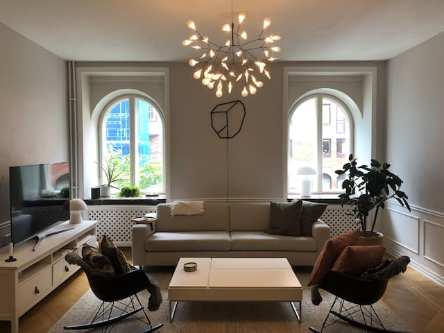 Big central apartment in the heart of Gothenburg